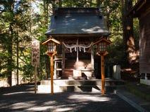Arakura Sengen Shrine. Kawaguchi, Japan - November 1, 2018: Arakura Sengen Shrine in Fujiyoshida, Yamanashi Prefecture near to Chureito Pagoda, It was built as a stock image