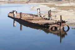 Aral hav - kazakhstan Royaltyfria Bilder