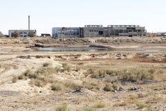 Aral il Kazakistan marino Fotografia Stock Libera da Diritti