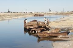 Aral Sea - kazakhstan Stock Photography