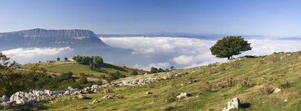 Aralar und Montierung San Donato, Navarre Lizenzfreies Stockfoto
