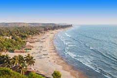 Arambol beach, Goa. Beauty Arambol beach landscape, Goa state, India Stock Images