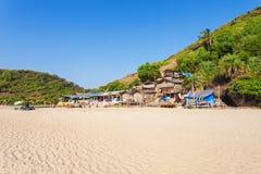 Arambol beach, Goa. Beauty Arambol beach landscape, Goa state, India Stock Photos