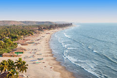 Arambol beach, Goa Royalty Free Stock Photo