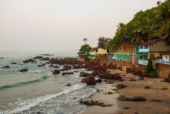 Arambol beach, Goa state, India. Beauty Arambol beach landscape, Goa state, India Stock Photography