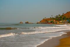 Arambol beach, Goa state, India. Beauty Arambol beach landscape, Goa state, India Stock Images