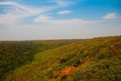 Arambol beach, Goa state, India. Beauty Arambol beach landscape. Panorama, top view. Goa state India Stock Photos