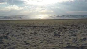 Arambol beach, Goa. View to Arambol beach, Goa India, 4k. 4k 30 fps stock video footage