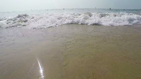 Arambol beach, Goa stock footage