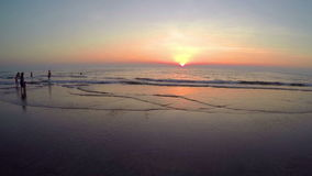 Arambol beach, Goa stock video footage