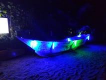 Arambol bis zum Nacht, Goa, Indien lizenzfreie stockbilder