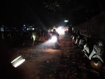 Arambol noc?, Goa, India fotografia royalty free