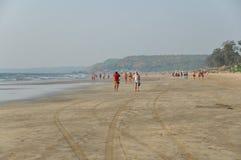Arambol plaża w Goa obraz royalty free