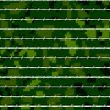 Arame farpado com fundo unfocused verde ilustração stock