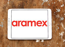 Aramex postal shipping company logo Royalty Free Stock Photos