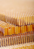 Aramid kevlar honeycomb Stock Images