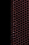 Aramid kevlar honeycomb. Is a composite material known for extreme strength Royalty Free Stock Photos