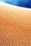 Aramid kevlar honeycomb. Is a composite material known for extreme strength Stock Image