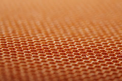 Aramid kevlar honeycomb Royalty Free Stock Photos