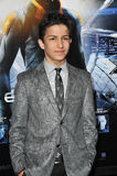 Aramis Knight. LOS ANGELES, CA - OCTOBER 28, 2013: Aramis Knight at the Los Angeles premiere of his movie Ender's Game at the TCL Chinese Theatre Stock Photo