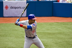 aramis kobiecej ligi baseballu major Ramirez Obrazy Royalty Free