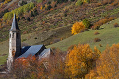aran άδυτο Ισπανία valle de montgarri Στοκ Φωτογραφία