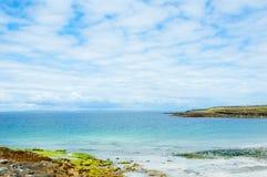 Aran Island. Irish Islands Aran, beach in North Coast Stock Photography