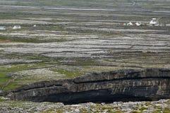 Aran Island. Irish Island Aran, empty scenic for rocks Stock Image