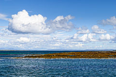 Aran Island, Ireland. Beautiful seascape at the Aran Island, Ireland Royalty Free Stock Images