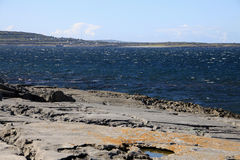 ARAN ISLANDS CLIFFS, IRELAND. Landscape with cliffs in Inisheer, Aran Islands, Ireland Stock Image