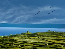 Aran Islands Galway Bay, Irland stockfotografie