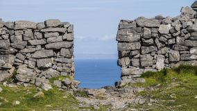 Aran Islands - Inishmore. Ireland, North Atlantic Ocean Stock Images