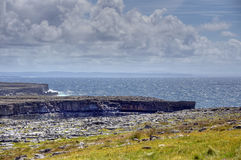 Aran Islands, Ireland. Inishmore on the Aran Islands, Ireland Royalty Free Stock Image