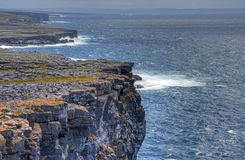 Aran Islands, Ireland. Inishmore on the Aran Islands, Ireland Royalty Free Stock Images