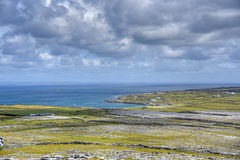 Aran Islands, Ireland. Inishmore on the Aran Islands, Ireland Stock Photo