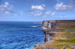 Aran Islands, Ireland. Inishmore on the Aran Islands, Ireland Stock Image