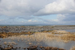 Aran Islands. A landscape in Inis Mor Royalty Free Stock Images