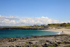 Aran islands quite landscape Stock Image