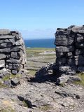 Aran Islands. Walking around the Aran Island in Ireland Stock Image