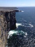 Aran Islands. Walking around the Aran Island in Ireland Stock Photography