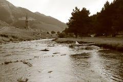 ` Aran Montgarri Vall d стоковое фото