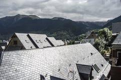 Aran Valley nos Pyrenees Imagem de Stock