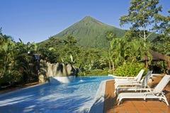 Aranal toont van het zwembad Royalty-vrije Stock Foto's