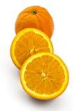 Arance organiche crude Fotografia Stock Libera da Diritti