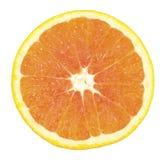 Arancia affettata Immagini Stock Libere da Diritti