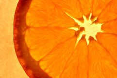 Arancia astratta immagine stock