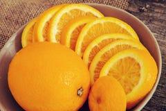 Arancia deliziosa Fotografia Stock