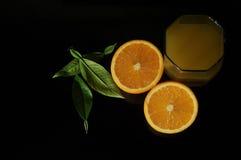 Arancia di natura morta, arancio fotografia stock libera da diritti