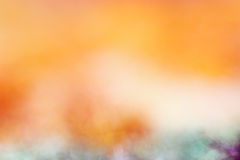 Arancia dorata vaga Immagine Stock Libera da Diritti
