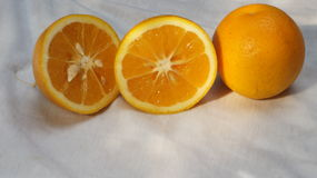 Arancia e più arancio Immagine Stock